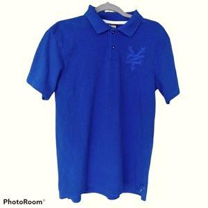 Zoo York 2 Button Embroidered Logo Men's Shirt